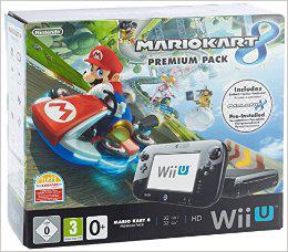 Console Nintendo Wii U Pack Premium Mario Kart 8