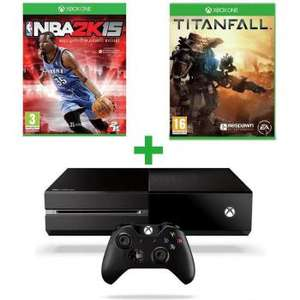 Pack Console XBOX One + NBA 2K15 + Titanfall
