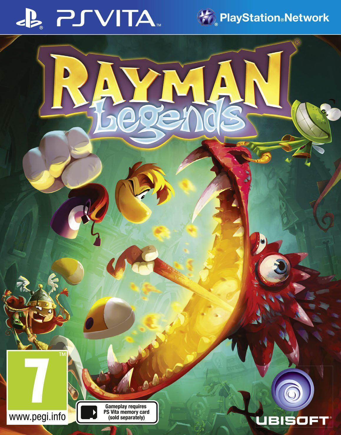 Rayman Legends sur PS Vita