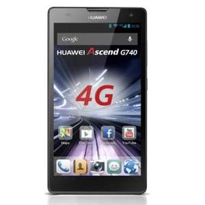 Smartphone Huawei Ascend G740 - Gris Fonce