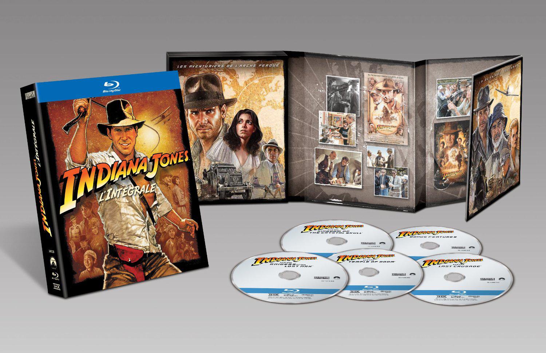 Coffret Blu-ray Indiana Jones: L'intégrale