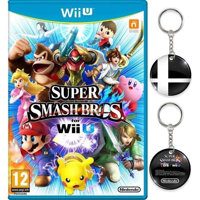 Super Smash Bros sur Wii U + Porte Clé