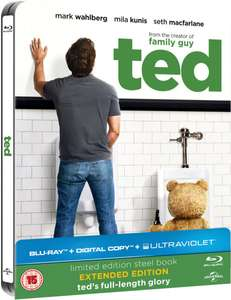 Steelbook Blu-ray :  Ted - édition limitée