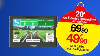 GPS 5''  Europe Mappy UltiE518