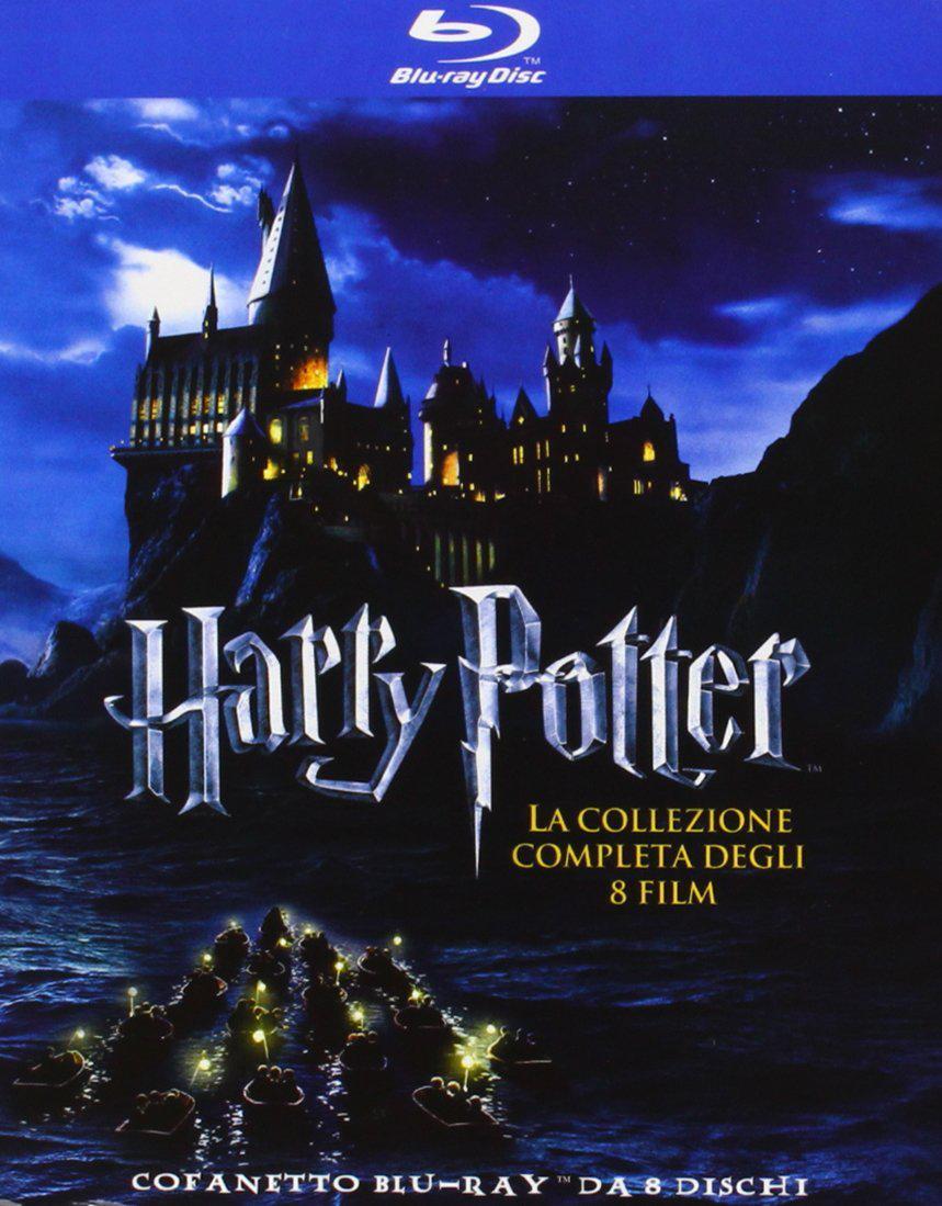 Coffret Blu-ray Intégrale Harry Potter (8 Blu-rays)