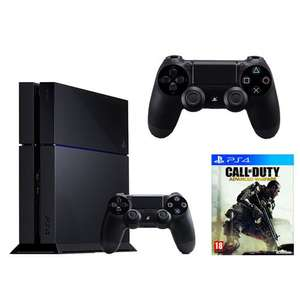 Console Playstation 4 + 2 manettes + Call Of Duty : Advanced Warfare