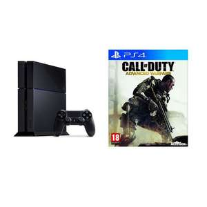 Console Sony PlayStation 4 + Call Of Duty Advanced Warfare