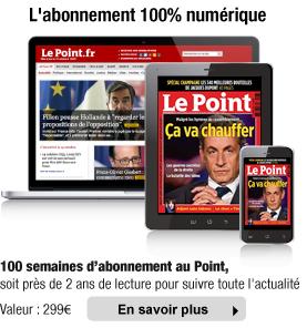 100 semaines d'abonnement au magazine Le Point (Edition Numérique) + Tablette Samsung Galaxy Tab 3 Lite