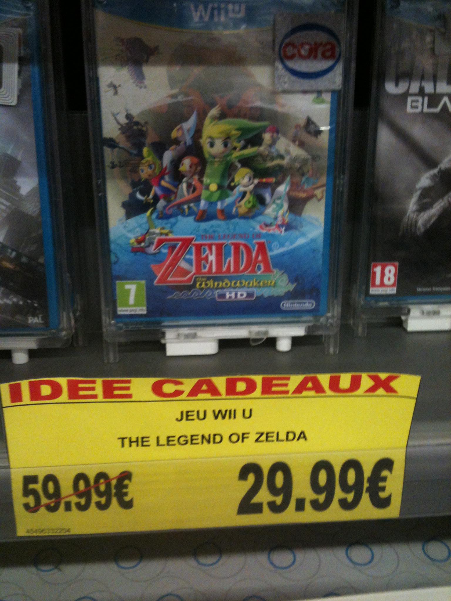 The Legend of Zelda Wind Waker HD sur Wii U