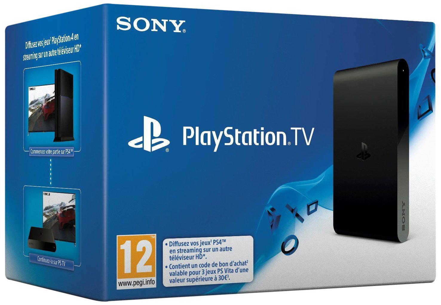 Playstation TV + 3 jeux
