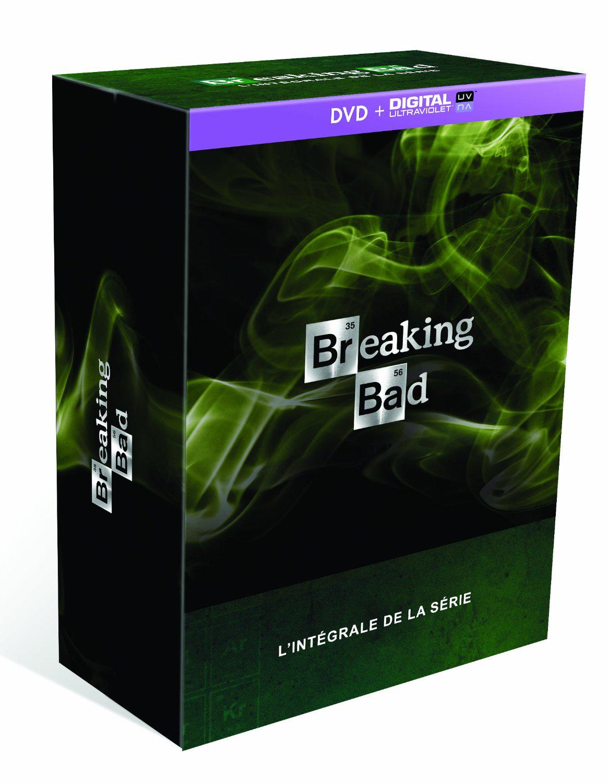 Coffret DVD Intégrale de Breaking Bad