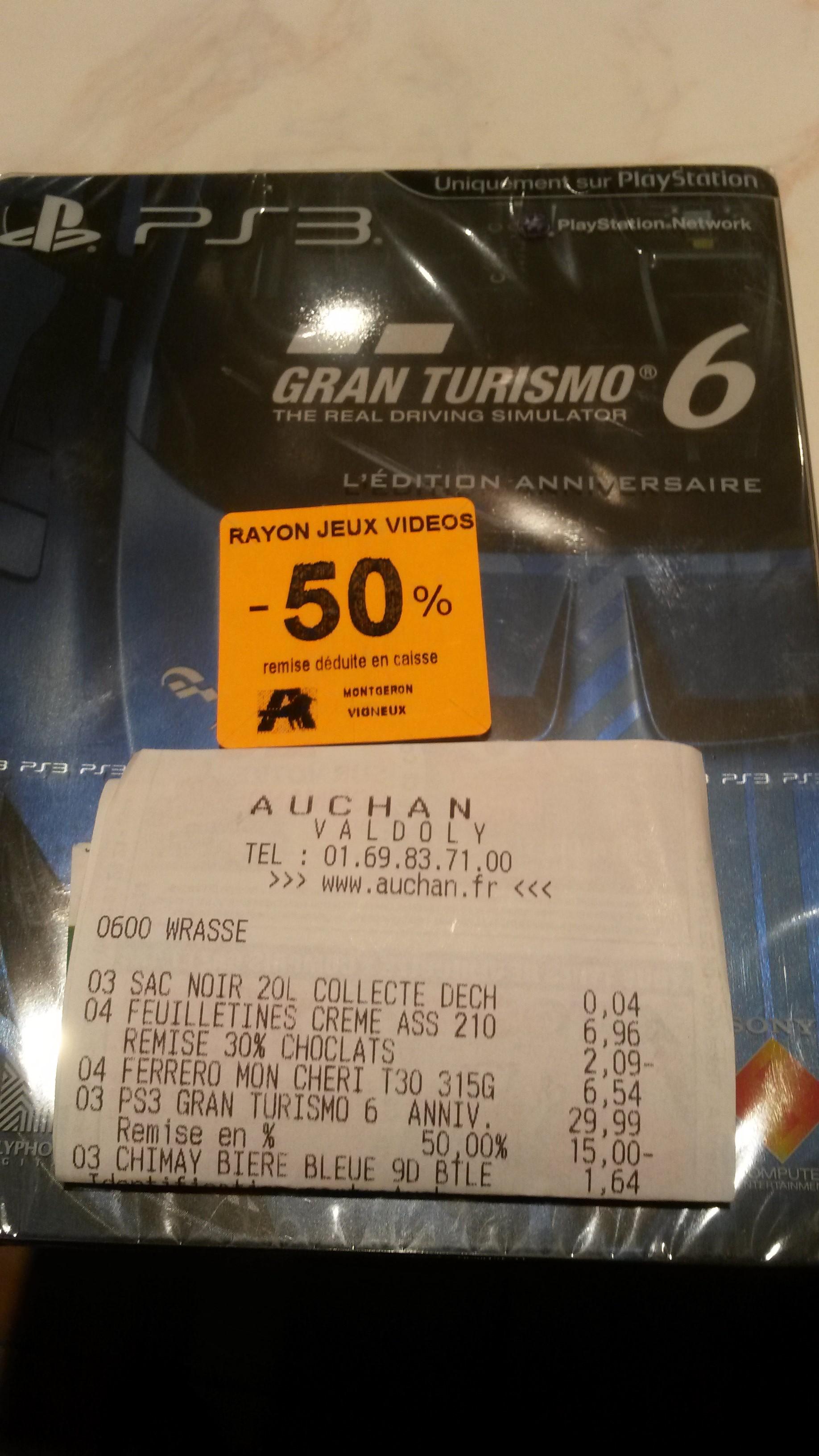 Gran Turismo 6 - L'édition anniversaire sur PS3