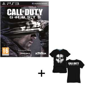 Call of Duty Ghost sur PS3 / Xbox360 + T-shirt