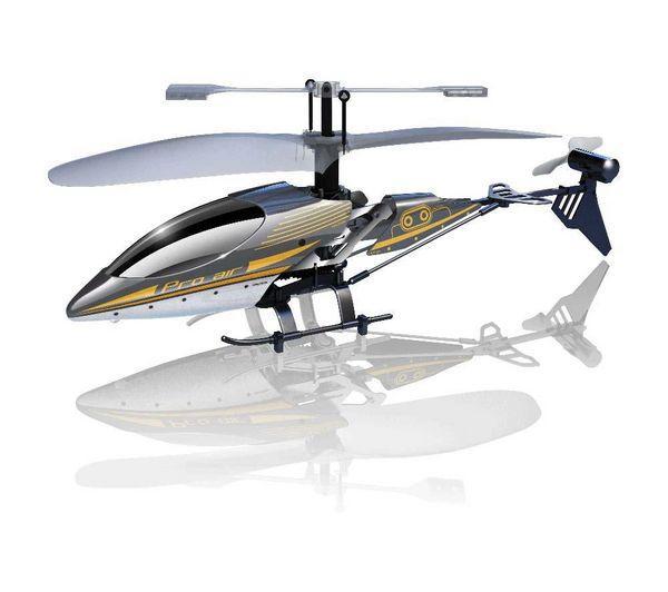 Hélicoptère radiocommandé Silverlit Sky Wizard Smart Control - 18 cm (radiocommande ou smartphone)