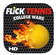 Jeu Flick Tennis HD gratuit (au lieu de 4,49€) sur iOS