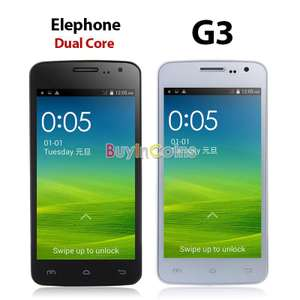Smartphone Elephone G3 - double sim - Dual Core - Android 4.4 - 4Go