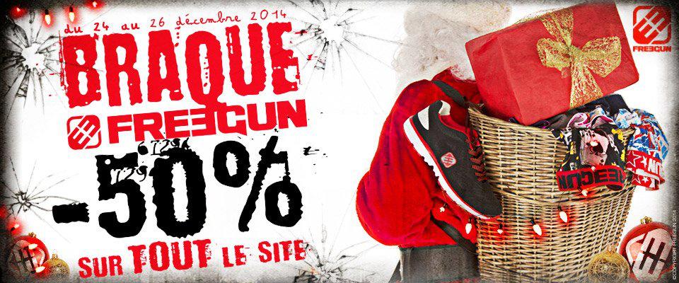 50% sur tout le site (Boxer, caleçon, accessoires...) + -5% a partir de 50€