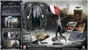 Assassin's Creed Unity Edition Collector Notre Dame sur Xbox One ou PS4
