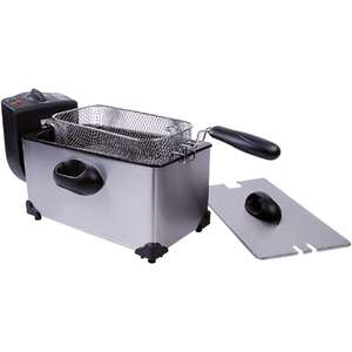 Friteuse Home Essentials  avec panier amovible, 2000 watts, 3L