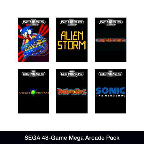 48 jeux Sega sur PC (Dématérialisé)