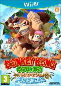 Jeu Donkey Kong Country : Tropical Freeze sur Wii U