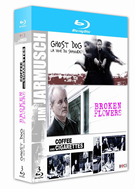 Coffret 3 Blu-ray Jim Jarmusch : Broken Flowers + Ghost Dog + Coffee and Cigarettes