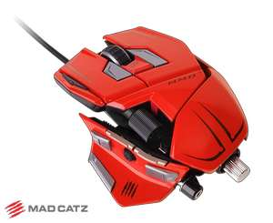 Souris gaming Mad Catz Cyborg MMO 7 rouge
