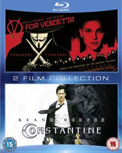Coffret 2 Blu-Rays V pour Vendetta et  Constantine