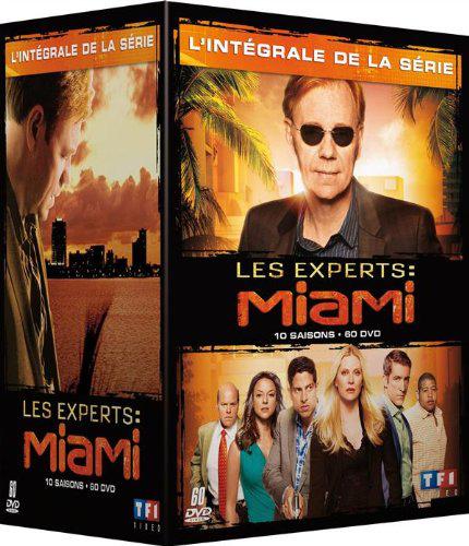 Coffret Intégrale Les Experts: Miami (10 Saisons - 60 DVD)