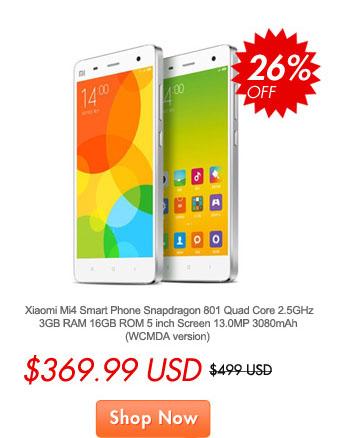 Jusqu'à -40% sur les produits Xiaomi  et 5$ de réduction dès 155$ d'achat