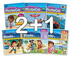 2 jeux  Storio/Mobigo achetés = le 3ème offert