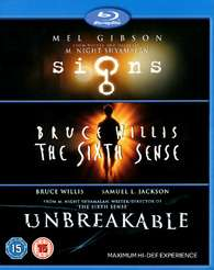 "Séléction de Blu-ray à bon prix - Ex : Coffret 3 Blu-ray ""M. Night Shyamalan Collection"""