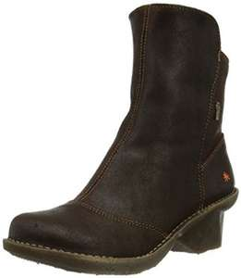 Boots cuir femme Art Oteiza 667 - Marron