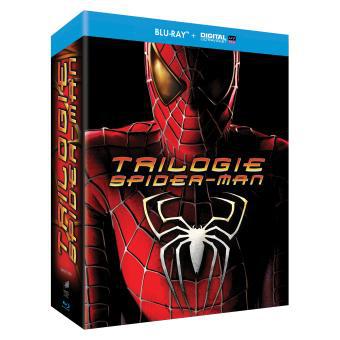 Coffret Blu-Ray Trilogie Spider-Man (+ copies digitales)