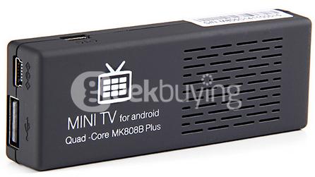 Mini TV Dongle MK808B Plus Amlogic M805 - Quad Core - Wifi - Bluetooth DLNA Miracast