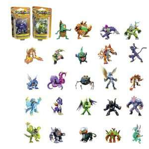 Lot de 24 figurines Invizimals