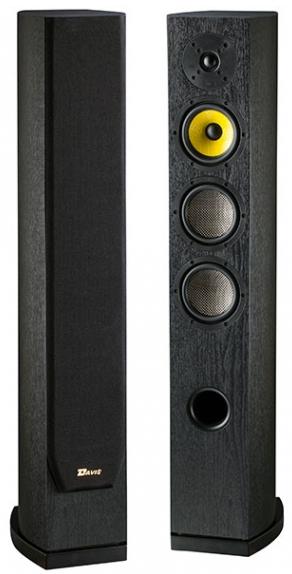 Paire d'enceintes colonne Davis Acoustics Matisse HD noir