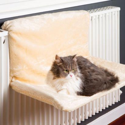 Hamac pour chat à fixer au radiateur 52 x 34 x 29 cm