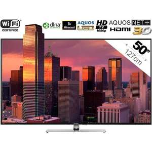 "Téléviseur 50"" Sharp LC-50LE761E - Full HD"