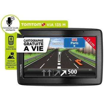 GPS TomTom Via 135 M - Cartographie à vie Europe