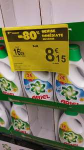 Bidon Lessive Ariel XL Pack 45 doses