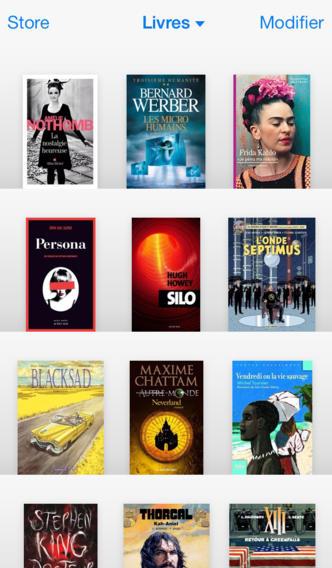 10 livres (Ellory, Lévy, King, Chattam...) sur iBooks