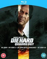 Coffret Blu-ray Quadrilogie Die Hard