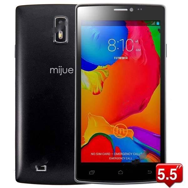 "Smartphone 5.5"" Mijue G6 4Go (Android 4.4)"
