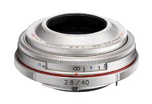Objectif Pentax 21400 HD DA 40mm f2.8 limited silver