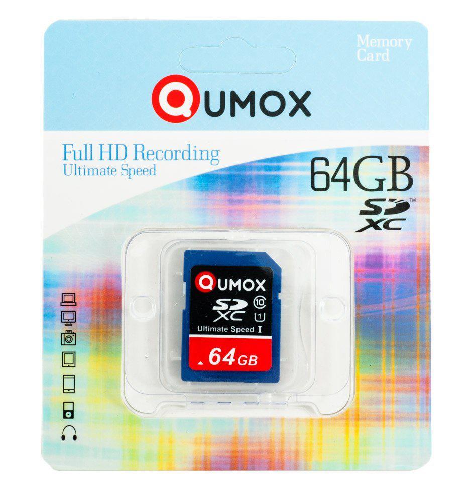Carte Mémoire SDXC Qumox 64Go