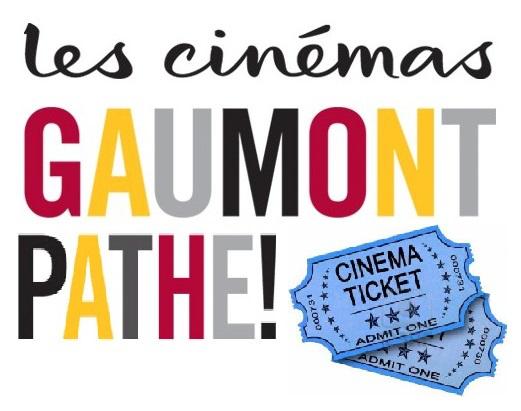 1 Place cinéma Gaumont achetée = 1 offerte, soit les deux places