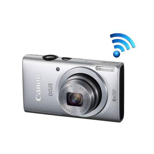 Appareil photo Canon Wifi  - Ixus 140 Silver - 16 MP