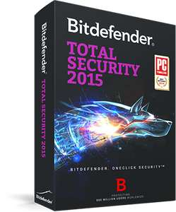 Licence 1 an Bitdefender Total Security 2015 gratuit sur PC