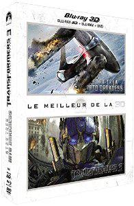 Coffret 2 Blu-ray 3D Star Trek Into Darkness + Transformers 3 (  Blu ray 3d +Dvd +Blu Ray )